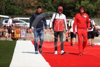 World © Octane Photographic Ltd. Formula 1 – Spanish GP. Thursday Setup. Alfa Romeo Racing C38 – Antonio Giovinazzi. Circuit de Barcelona Catalunya, Spain. Thursday 9th May 2019.