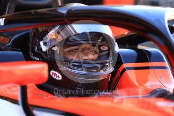 World © Octane Photographic Ltd. FIA Formula 2 (F2) – Spanish GP - Qualifying. MP Motorsport - Mahaveer Raghunathan. Circuit de Barcelona-Catalunya, Spain. Friday 10th May 2019.