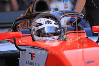 World © Octane Photographic Ltd. FIA Formula 2 (F2) – Spanish GP - Qualifying. MP Motorsport – Jordan King. Circuit de Barcelona-Catalunya, Spain. Friday 10th May 2019.