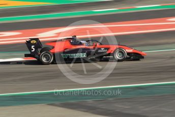 World © Octane Photographic Ltd. FIA Formula 3 (F3) – Spanish GP – Practice. MP Motorsport - Simo Laaksonen. Circuit de Barcelona-Catalunya, Spain. Friday 10th May 2019.