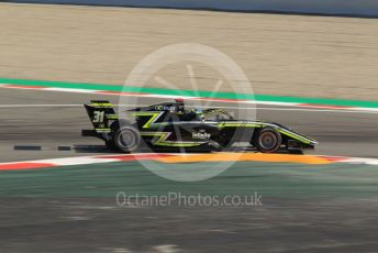 World © Octane Photographic Ltd. FIA Formula 3 (F3) – Spanish GP – Practice. Carlin Buzz Racing - Logan Sargeant. Circuit de Barcelona-Catalunya, Spain. Friday 10th May 2019.