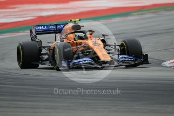 World © Octane Photographic Ltd. Formula 1 – Spanish GP. Practice 3. McLaren MCL34 – Lando Norris. Circuit de Barcelona Catalunya, Spain. Saturday 11th May 2019.