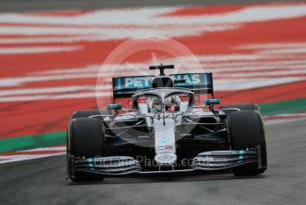 World © Octane Photographic Ltd. Formula 1 – Spanish GP. Practice 3. Mercedes AMG Petronas Motorsport AMG F1 W10 EQ Power+ - Lewis Hamilton. Circuit de Barcelona Catalunya, Spain. Saturday 11thth May 2019.