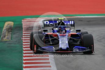 World © Octane Photographic Ltd. Formula 1 – Spanish GP. Practice 3. Scuderia Toro Rosso STR14 – Alexander Albon. Circuit de Barcelona Catalunya, Spain. Saturday 11th May 2019.