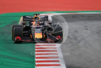 World © Octane Photographic Ltd. Formula 1 – Spanish GP. Practice 3. Aston Martin Red Bull Racing RB15 – Max Verstappen. Circuit de Barcelona Catalunya, Spain. Saturday 11th May 2019.