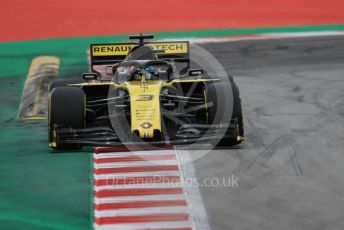 World © Octane Photographic Ltd. Formula 1 – Spanish GP. Practice 3. Renault Sport F1 Team RS19 – Daniel Ricciardo. Circuit de Barcelona Catalunya, Spain. Saturday 11th May 2019.