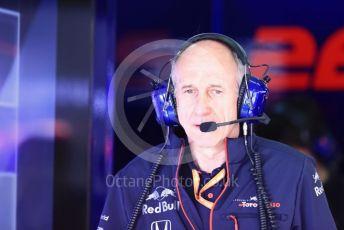 World © Octane Photographic Ltd. Formula 1 - Spanish GP. Paddock. Franz Tost – Team Principal of Scuderia Toro Rosso. Circuit de Barcelona Catalunya, Spain. Saturday 11th May 2019.