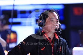 World © Octane Photographic Ltd. Formula 1 - Spanish GP. Paddock. Toyoharu Tanabe - Technical Director at Honda. Circuit de Barcelona Catalunya, Spain. Saturday 11th May 2019.