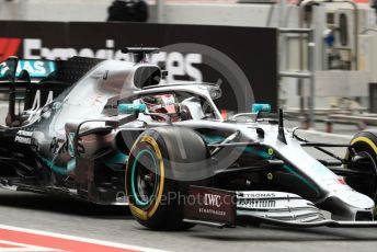 World © Octane Photographic Ltd. Formula 1 – Spanish GP. Practice 3. Mercedes AMG Petronas Motorsport AMG F1 W10 EQ Power+ - Lewis Hamilton. Circuit de Barcelona Catalunya, Spain. Saturday 11th May 2019.