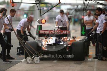 World © Octane Photographic Ltd. Formula 1 – Spanish GP. Practice 3. McLaren MCL34 – Carlos Sainz. Circuit de Barcelona Catalunya, Spain. Saturday 11th May 2019.