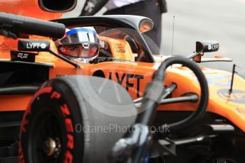 World © Octane Photographic Ltd. Formula 1 – Spanish GP. Practice 3. McLaren MCL34 – Carlos Sainz. Circuit de Barcelona Catalunya, Spain. Saturday 11thth May 2019.