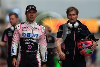 World © Octane Photographic Ltd. Formula 1 – Spanish GP. Practice 3. SportPesa Racing Point RP19 - Sergio Perez. Circuit de Barcelona Catalunya, Spain. Saturday 11th May 2019.