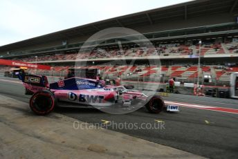 World © Octane Photographic Ltd. Formula 1 – Spanish GP. Practice 3. SportPesa Racing Point RP19 – Lance Stroll. Circuit de Barcelona Catalunya, Spain. Saturday 11th May 2019.