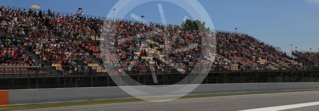 World © Octane Photographic Ltd. Formula 1 – Spanish GP. Qualifying. Fans. Circuit de Barcelona Catalunya, Spain. Saturday 11th May 2019.