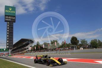 World © Octane Photographic Ltd. Formula 1 – Spanish GP. Qualifying. Renault Sport F1 Team RS19 – Nico Hulkenberg. Circuit de Barcelona Catalunya, Spain. Saturday 11th May 2019.