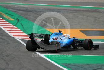 World © Octane Photographic Ltd. Formula 1 – Spanish GP. Qualifying. ROKiT Williams Racing – George Russell. Circuit de Barcelona Catalunya, Spain. Saturday 11th May 2019.