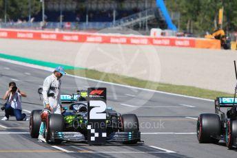 World © Octane Photographic Ltd. Formula 1 – Spanish GP. Qualifying. Mercedes AMG Petronas Motorsport AMG F1 W10 EQ Power+ - Lewis Hamilton. Circuit de Barcelona Catalunya, Spain. Saturday 11th May 2019.