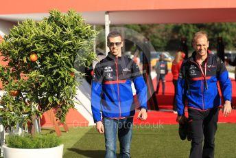 World © Octane Photographic Ltd. Formula 1 – Spanish GP. Friday Paddock. Scuderia Toro Rosso STR14 – Daniil Kvyat. Circuit de Barcelona Catalunya, Spain. Friday 10th May 2019.
