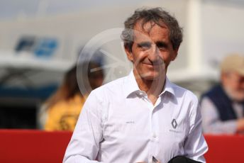World © Octane Photographic Ltd. Formula 1 - Spanish GP. Paddock. Alain Prost – Special Advisor to Renault Sport Formula 1 Team. Circuit de Barcelona Catalunya, Spain. Saturday 11th May 2019.