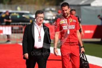 World © Octane Photographic Ltd. Formula 1 - Spanish GP. Paddock. Louis Camilleri - CEO of Ferrari and former Chairman of Philip Morris International. Circuit de Barcelona Catalunya, Spain. Sunday 12th May 2019.