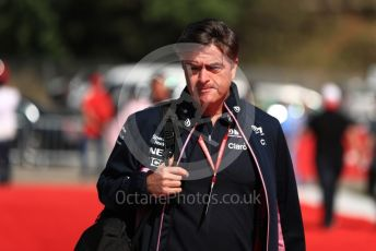 World © Octane Photographic Ltd. Formula 1 - Spanish GP. Paddock. Andy Stevenson – Sporting Director at SportPesa Racing Point. Circuit de Barcelona Catalunya, Spain. Sunday 12th May 2019.