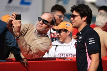 World © Octane Photographic Ltd. Formula 1 – Spanish GP. Paddock. SportPesa Racing Point RP19 – Lance Stroll. Circuit de Barcelona Catalunya, Spain. Sunday 12th May 2019.