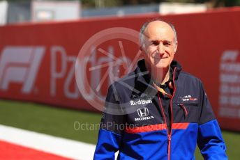 World © Octane Photographic Ltd. Formula 1 - Spanish GP. Paddock. Franz Tost – Team Principal of Scuderia Toro Rosso. Circuit de Barcelona Catalunya, Spain. Sunday 12th May 2019.