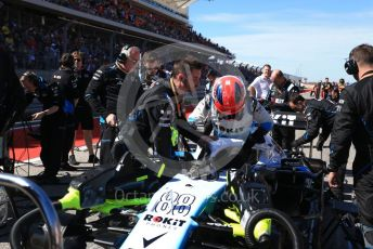 World © Octane Photographic Ltd. Formula 1 – United States GP - Grid. ROKiT Williams Racing FW42 – Robert Kubica. Circuit of the Americas (COTA), Austin, Texas, USA. Sunday 3rd November 2019.