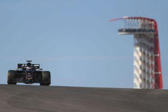 World © Octane Photographic Ltd. Formula 1 – United States GP - Practice 1. Haas F1 Team VF19 – Romain Grosjean. Circuit of the Americas (COTA), Austin, Texas, USA. Friday 1st November 2019.