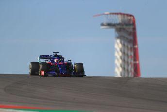 World © Octane Photographic Ltd. Formula 1 – United States GP - Practice 1. Scuderia Toro Rosso STR14 – Daniil Kvyat. Circuit of the Americas (COTA), Austin, Texas, USA. Friday 1st November 2019.