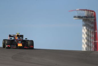 World © Octane Photographic Ltd. Formula 1 – United States GP - Practice 1. Aston Martin Red Bull Racing RB15 – Alexander Albon. Circuit of the Americas (COTA), Austin, Texas, USA. Friday 1st November 2019.