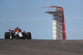 World © Octane Photographic Ltd. Formula 1 – United States GP - Practice 1. Alfa Romeo Racing C38 – Kimi Raikkonen. Circuit of the Americas (COTA), Austin, Texas, USA. Friday 1st November 2019.