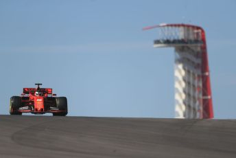 World © Octane Photographic Ltd. Formula 1 – United States GP - Practice 1. Scuderia Ferrari SF90 – Sebastian Vettel. Circuit of the Americas (COTA), Austin, Texas, USA. Friday 1st November 2019.