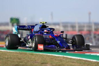 World © Octane Photographic Ltd. Formula 1 – United States GP - Practice 1. Scuderia Toro Rosso STR14 – Pierre Gasly. Circuit of the Americas (COTA), Austin, Texas, USA. Friday 1st November 2019.