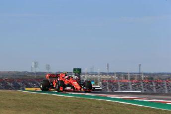 World © Octane Photographic Ltd. Formula 1 – United States GP - Practice 1. Scuderia Ferrari SF90 – Charles Leclerc. Circuit of the Americas (COTA), Austin, Texas, USA. Friday 1st November 2019.