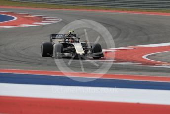 World © Octane Photographic Ltd. Formula 1 – United States GP - Practice 2. Haas F1 Team VF19 – Kevin Magnussen. Circuit of the Americas (COTA), Austin, Texas, USA. Friday 1st November 2019.