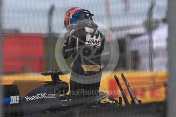 World © Octane Photographic Ltd. Formula 1 – United States GP - Practice 2. Haas F1 Team VF19 – Romain Grosjean. Circuit of the Americas (COTA), Austin, Texas, USA. Friday 1st November 2019.
