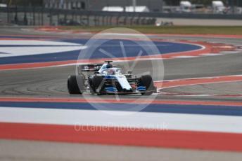 World © Octane Photographic Ltd. Formula 1 – United States GP - Practice 2. ROKiT Williams Racing FW 42 – George Russell. Circuit of the Americas (COTA), Austin, Texas, USA. Friday 1st November 2019.