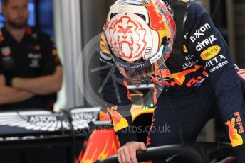 World © Octane Photographic Ltd. Formula 1 – United States GP - Practice 3. Aston Martin Red Bull Racing RB15 – Max Verstappen. Circuit of the Americas (COTA), Austin, Texas, USA. Saturday 2nd November 2019.