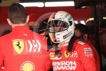 World © Octane Photographic Ltd. Formula 1 – United States GP - Practice 3. Scuderia Ferrari SF90 – Sebastian Vettel. Circuit of the Americas (COTA), Austin, Texas, USA. Saturday 2nd November 2019.