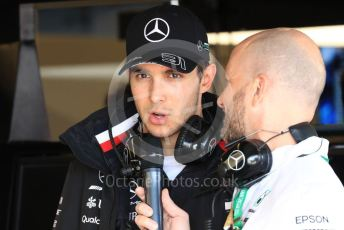 World © Octane Photographic Ltd. Formula 1 – United States GP - Practice 3. Mercedes AMG Petronas Motorsport AMG F1 W10 EQ Power+ reserve driver - Esteban Ocon. Circuit of the Americas (COTA), Austin, Texas, USA. Saturday 2nd November 2019.