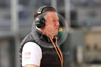 World © Octane Photographic Ltd. Formula 1 - United States GP - Practice 3. Zak Brown - Executive Director of McLaren Technology Group. Circuit of the Americas (COTA), Austin, Texas, USA. Saturday 2nd November 2019.
