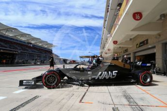 World © Octane Photographic Ltd. Formula 1 – United States GP - Practice 3. Haas F1 Team VF19 – Romain Grosjean. Circuit of the Americas (COTA), Austin, Texas, USA. Saturday 2nd November 2019.