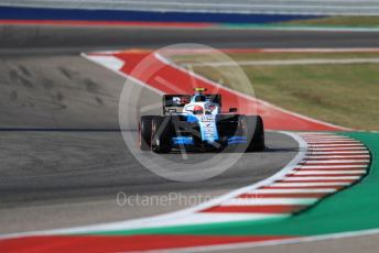 World © Octane Photographic Ltd. Formula 1 – United States GP - Quailfying. ROKiT Williams Racing FW42 – Robert Kubica. Circuit of the Americas (COTA), Austin, Texas, USA. Saturday 2nd November 2019