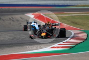 World © Octane Photographic Ltd. Formula 1 – United States GP - Quailfying. Aston Martin Red Bull Racing RB15 – Alexander Albon. Circuit of the Americas (COTA), Austin, Texas, USA. Saturday 2nd November 2019.