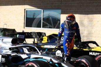 World © Octane Photographic Ltd. Formula 1 – United States GP - Qualifying. McLaren MCL34 – Carlos Sainz. Circuit of the Americas (COTA), Austin, Texas, USA. Saturday 2nd November 2019.