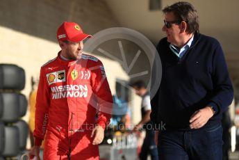 World © Octane Photographic Ltd. Formula 1 – United States GP - Qualifying. Scuderia Ferrari SF90 – Sebastian Vettel. Circuit of the Americas (COTA), Austin, Texas, USA. Saturday 2nd November 2019.