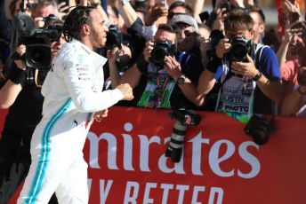 World © Octane Photographic Ltd. Formula 1 – United States GP - Parc Ferme. Mercedes AMG Petronas Motorsport AMG F1 W10 EQ Power+ - World Champion Lewis Hamilton. Circuit of the Americas (COTA), Austin, Texas, USA. Sunday 3rd November 2019.