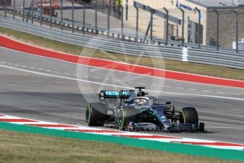 World © Octane Photographic Ltd. Formula 1 – United States GP – Race Mercedes AMG Petronas Motorsport AMG F1 W10 EQ Power+ - Lewis Hamilton. Circuit of the Americas (COTA), Austin, Texas, USA. Sunday 3rd November 2019.