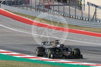 World © Octane Photographic Ltd. Formula 1 – United States GP - Race. Haas F1 Team VF19 – Romain Grosjean. Circuit of the Americas (COTA), Austin, Texas, USA. Sunday 3rd November 2019.